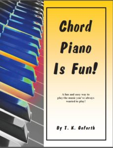 Chord Piano Is Fun Book